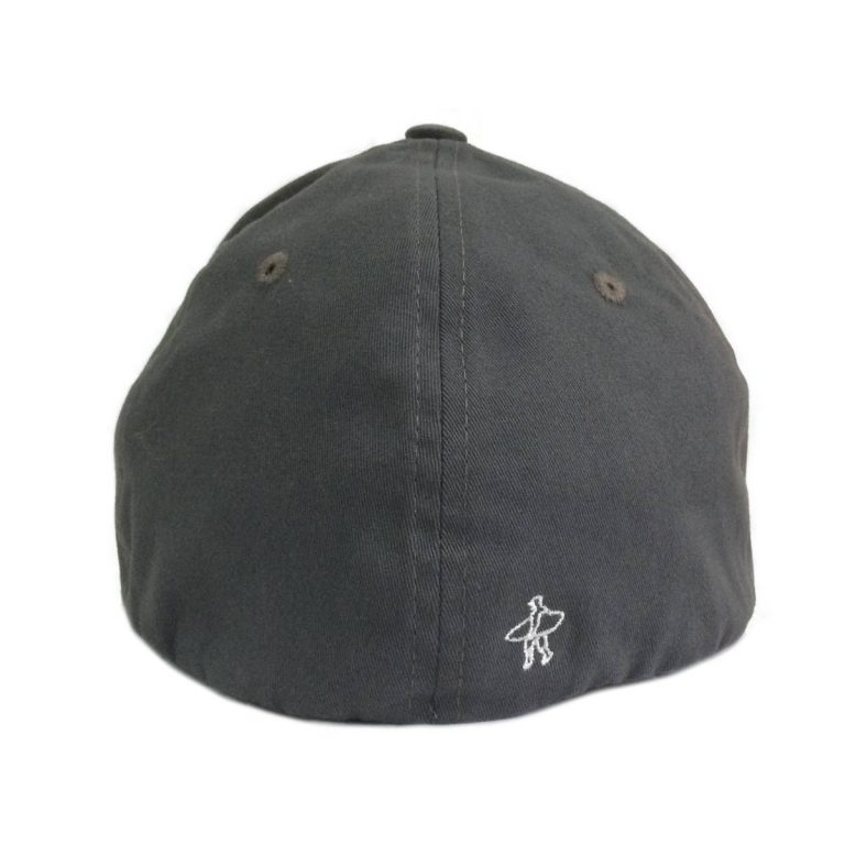 Makara Classic Cap Charcoal Rear View