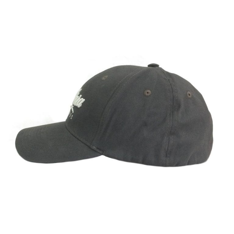 Makara Classic Cap Charcoal Side View